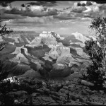 Black and White of the Grand Canyon