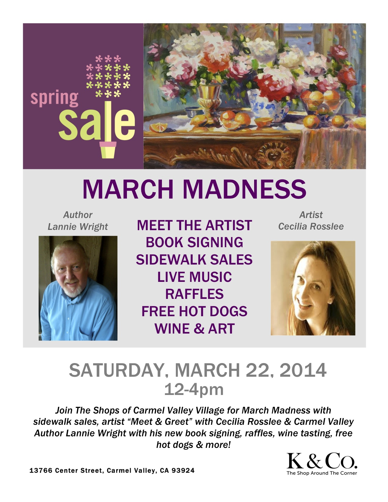 March Madness Book Signing!